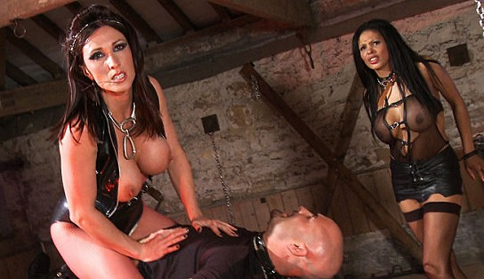 Three some in a dungeon